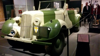 Car of Field Marshal Montgomery